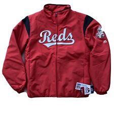 MLB Majestic Men's M Medium Coat Jacket Therma Base Authentic - Cincinnati Reds