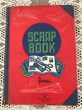 VINTAGE 1930's SCRAPBOOK KITCHEN HOME DESIGN PLANS LIVINGROOM EPHEMERA