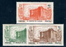 OCEANIE 1939 Yvert 130-132 * REVOLUTION TEILSATZ 72€(F4629