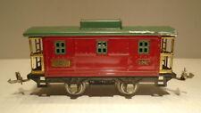 LIONEL TRAIN 807 TIN CABOOSE  ELECTRIC RAILROAD PRE WAR