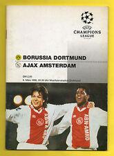 ORIG. prg Champions League 95/96 borussia dortmund-ajax amsterdam 1/4 F.