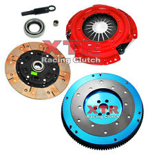 XTR DUAL-FRICTION CLUTCH KIT & ALUMINUM FLYWHEEL fits KA24E KA24DE NISSAN 240SX