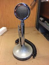 Vintage Astatic Silver Eagle Microphone w/ T-UG8 Stand Guaranteed to Work