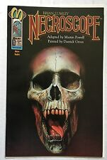 Malibu NECROSCOPE #1 Brian Lumley Mature Readers VF-NM Horror Mystery Comic Book
