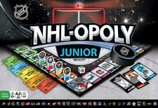 NHL-Opoly Junior Board Game, NHL Licensed Hockey Game