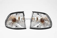 BMW 7 Serie E38 95-98 Transparente Delantero Indicadores Repetidores par set