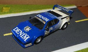 BMW M1 DENIM N° 81 CHAMPIONNAT PROCAR BMW M 1 1980 PAR MINICHAMPS ECHELLE 1/43