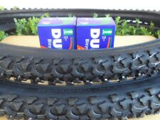"26 x 1.95 Bicycle Tires + Tubes Mountain Bike 26"" NEW 26x1.95"