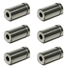6x 12*25mm Stainless Steel Advertise Glass Standoff Pin Fixing Mount Bolt Nails