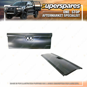 Superspares Tail Gate for Mitsubishi Triton MN With Lamp Hole 09/2009-12/2014