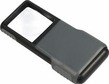 Carson Minibrite LED Lighted Pocket Aspheric 5x Slide Up Magnifier (UK Stock)