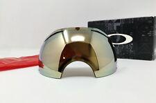 New listing Oakley® Brand Airbrake™ Snow Goggle Replacement Lens - Hdo® 24K Gold Iridium