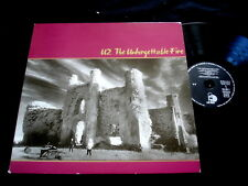 U2/THE UNFORGETTABLE FIRE/FRENCH PRESS