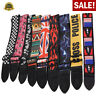 Adjustable Heavy Duty Guitar Strap For Electric Acoustic Guitar Bass Leather End