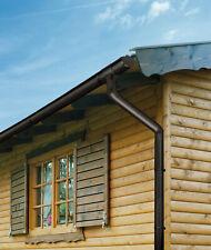 Marley Dachrinnenset Regenrinne Dachrinne Set versch Töne / Größen f. Gartenhaus