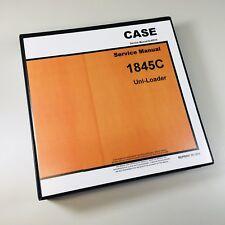 CASE 1845C UNI-LOADER SKIDSTEER SERVICE REPAIR MANUAL TECHNICAL SHOP BOOK OVRHL