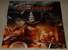 CHRISTOPHER LEE-CHARLEMAGNE-THE OMENS OF DEATH-ORANGE VINYL 2LP-JUDAS PRIEST-NEW