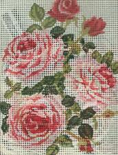 Grafitec Needlepoint Tapestry Kit - Roses and Rosebuds