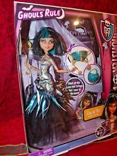 MONSTER HIGH GHOULS RULE  CLEO DE NILE  AMAZING DETAIL PRISTINE CONDITION 2012