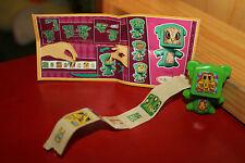figurine magic kinder mixart ft 038 vert stickers ferrero