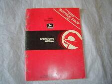 John Deere 6601 combine operator's manual