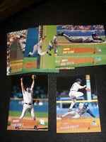 2000 Topps Stadium Club Detroit Tigers Team Set 8 cards