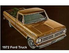 1972 Ford Pick Up Truck  Refrigerator  Magnet
