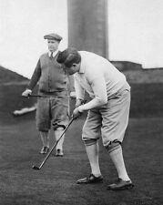1926 Golfer BABE RUTH Vintage 8x10 Photo Baseball Glossy Putting Golf Print