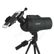 Compact Spotting Scope Waterproof for Birdwatching - 25-75X70 Zoom+Phone Adaptor