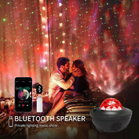 Pro LED Starry Night Sky Galaxy Projector Lamp 3D Ocean Wave Star Light Party