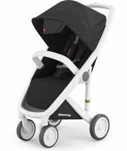 Greentom Classic Stroller Black & White Foldable Lightweight