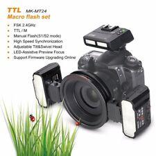 Meike MK-MT24 TTL Macro Twin Lite Flash Kit  fr Canon 650D 750D 800D 80D 5D2 5D4