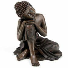 Thai Buddha Statue - Large 12cm Head on Knee Thai Buddha Statue