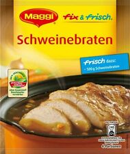 10 x MAGGI for Schweinebraten / Roast Pork  NEW from Germany