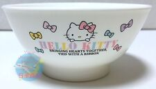 SANRIO HELLO KITTY KWAII BENTO Plastic Small Rice Bowl Japanese style from JAPAN