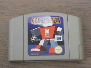 JEU NINTENDO 64 N64   ROBOTRON 64