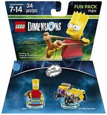 LEGO DIMENSIONS BART SIMPSON MINIFIGURE 71211 GRAVITY SPRINTER NEW FREE SHIPPING