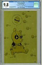 Do You Pooh #1 CGC 9.8 Deadpool #1 Deadpooh Baby Gold Metal Edition Young LTD 30