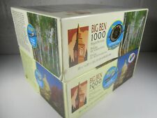 "20""x 26"" 1000 piece Big Ben Jigsaw Puzzle (Lot of 2) U.S Capital & Shelburne, NH"