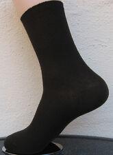 4 Pares Mujer calcetines sin goma 100%25 Algodón 1/1 Costilla marrón oscuro Talla