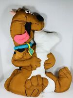Vintage Rare Nylon Scooby Doo Large Pillow Cartoon Network 1999 EUC