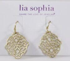 lia Sophia Gold Diary  Earrings- additional items ship free