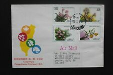 CHINA TAIWAN 1991  FDC Plants
