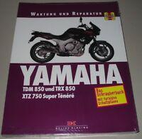 Reparaturanleitung Yamaha TDM 850 + TRX 850 XTZ 750 Super Tenere Ténéré Buch NEU