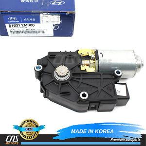 GENUINE Moon Sunroof Motor for 2010-13 Hyundai Genesis Coupe OEM 816312M000⭐⭐⭐⭐