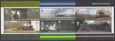 Gb #2177a Mnh Railroad Locomotives S/S 2004 cv $45