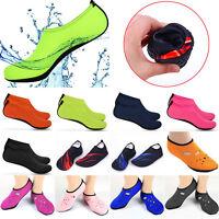 Mens Slip on Water Skin Shoes Beach Barefoot Aqua Socks Swim Pool Surf Non-slip