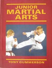JUNIOR MARTIAL ARTS BOOK BY TONY GUMMERSON KARATE KUNG FU JUDO JIUJITSU JUDO