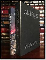 Artemis ✎SIGNED✎ by ANDY WEIR New Subterranean Press Leather Bound Lettered 1/52