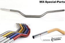 MANILLAR 28,6 mm gris # KTM SX 50 # ligero-Estable-gleitschale-Aluminio - 118/42